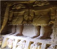 خاص بالفيديو| تعرف على التفاصيل الكاملة لمقبرة «مفتش القصر الإلهي»