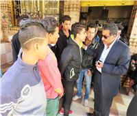 مدير أمن الإسماعيلية يتصل بأولياء أمور الطلاب «المزوغين»