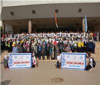 تكريم 33 بطلا رياضيا بكلية التربية بجامعة أسيوط
