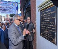 محافظ الإسكندرية ورئيس الشركة القابضة للمياه يفتتحان مركز «خدمة العملاء»