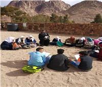 صور| الفن القبطي على مائدة ثقافة جنوب سيناء