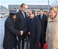 فيديو| وسط الثلوج.. استقبال حار من المصريين بالنمسا للرئيس السيسي