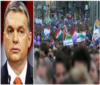 «400 ساعة عمل إضافية» تؤجج الاحتجاجات ضد أوربان في المجر