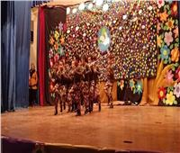 """""""حجازي"""" يشهد مهرجان الطفولة بمدرسة قومية العجوزة"""