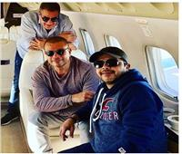 عمرو دياب يعود من السعودية مع هنيدي
