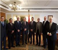 وزير قطاع الأعمال العام يجتمع بمجلس إدارة الشركة القابضة للنقل البحري والبري