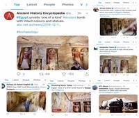 كشف مقبرة «كاهن التطهير» بسقارة تتصدر الصفحات الأولى للصحف العالمية