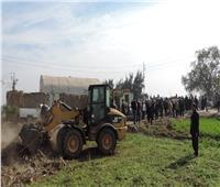 إزالة 90 حالة تعد على الأراضي الزراعية وأملاك الدولة بالقليوبية