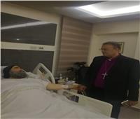 رئيس الطائفة الإنجيلية يزور أسقف أسيوط للاطمئنان على صحته