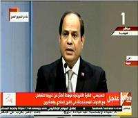 فيديو| السيسي: مصر تعتز بانتمائها للقارة الإفريقية