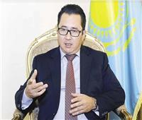 سفير كازاخستان يشارك في الاحتفال باليوم العالمي للغة العربية