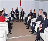 السيسي لرئيس وزراء مالطا: ندعم تشكيل حكومة وحدة وطنية ليبية