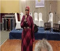 متسابقة من ذوي الاحتجاجات الخاصه تبدع في «مهرجان الإسكندرية للأغنية»