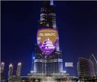 برج خليفة يحتفل بتأهل العين لنهائي كأس العالم للأندية