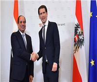 بث مباشر| فعاليات زيارات الرئيس السيسي في النمسا
