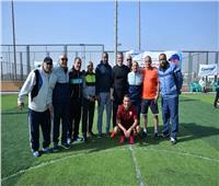 صور| وزير الطيران يشهد اليوم الرياضي للعاملين لمصرللطيران بنادى إيروسبورت