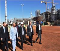 محافظ أسوان يتابع معدلات تنفيذ مشروع مصنع كيما 2 بنسبة 93 %