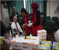 وزير الري يشارك في حملة «100 مليون صحة»