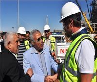 محافظ أسوان يشيد بإنجاز 93% من مصنع «كيما 2»