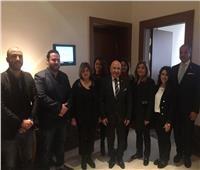 «بوابة أخبار اليوم» تلتقي الأسر المصرية التي قابلت الرئيس بالنمسا