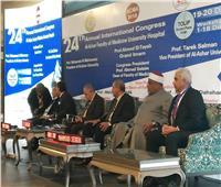 المحرصاوي: المستشفيات الجامعية تقدم خدمات علاجية لملايين المرضى سنويا