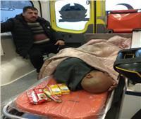 مسن مريض يفترش الأرض.. مستشفى الخانكة ترفض استقباله بسبب «البطاقة»