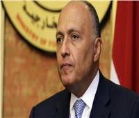 «شكري» يطالب المجتمع الدولي باتخاذ موقف حازم ضد الدول الداعمة للإرهاب