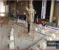 شاهد| 100ألف قطعة أثرية داخل المتحف المصري الكبير