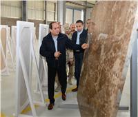 بسام راضي: السيسي يتفقد أول 3 مصانع تقام في مصر لمستلزمات إنتاج الرخام