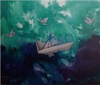 ٤٠ لوحة فنية في معرض رؤيتي بالأوبرا