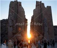 كبير الأثريين يشرح ظاهرة تعامد الشمس على معابد الكرنك