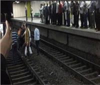 بعد حادث «الشاب الفلسطيني».. تكثيف أمني بمحطات «المترو» لمنع الانتحار