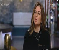 بالفيديو  نفين ابراهيم سعدة تكشف سر ابتسامتها في عزاء والدها