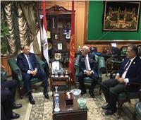وزير التنمية يصل محافطةبورسعيد للاحتفال بعيدها القومي