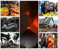 20 صورة ترصد تسونامي إندونيسيا