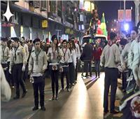 فيديو| رقص وعروض فنية في ساحة العباسيين بدمشق