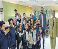 وزارة التموين تنظم حملات توعية لطلاب المدارس