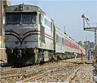 سيارة ملاكي تقتحم مزلقان شبين القناطر قبيل مرور القطار