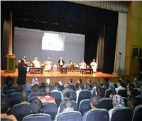 نائب محافظ الأقصر يشهد فعاليات منتدى الشباب العربي الإفريقي