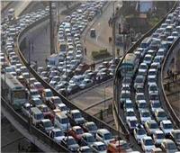 كثافات  المرور:كثافات متحركة على كافة المحاور والطرق الرئيسية بالقاهرة