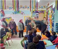 مدير تعليم القاهرة يتفقد العملية التعليمية بإدارة شرق مدينة نصر