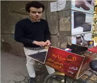فيديو| قهوة على الدراجة.. مشروع «عمر» لرزق حلال «ع السبرتاية»