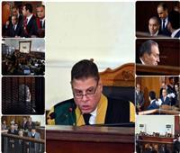 صور  أبرز 8 عناوين في شهادة مبارك بقضية «اقتحام السجون»