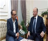 «الحاج علي» ومحافظ القاهرة يتفقان على أساسيات معرض القاهرة للكتاب