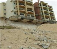 فيديو وصور| كارثة «العمارات المعلقة» بكومباوند بالساحل الشمالي