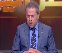 فيديو| توفيق عكاشة «يخانق ذباب وجهه»