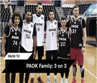 فيديو| صحيفة يونانية: عمرو وردة «ابن أبوه» في كرة السلة