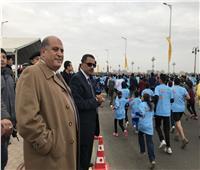 انطلاق ماراثون زايد في الإسماعيلية بحضور وزير الرياضة