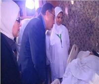 فيديو| رئيس الوزراء يصل مستشفى الهرم لمتابعة مصابي حادث انفجار المريوطية