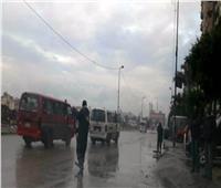 صور| أمطار غزيرة على الإسكندرية.. وطوارئ لكسح المياه